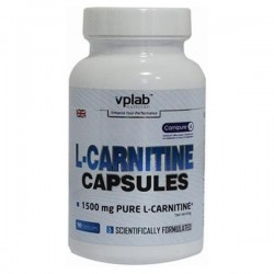 VPLab L-Carnitine Capsules, 90 капсул
