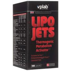 Жиросжигатель VPLab LipoJets, 100 капсул