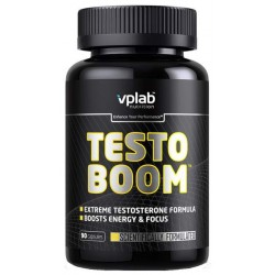 Бустер тестостерона VPLab Testoboom 90 капс. нейтральный