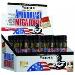 Weider Amino Blast Mega Forte 20 ампул по 25 мл без вкуса