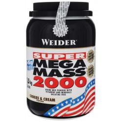 Гейнер Weider Mega Mass 2000 1500 г Cookies & Cream