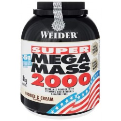 Гейнер Weider Mega Mass 2000 3000 г Cookies & Cream