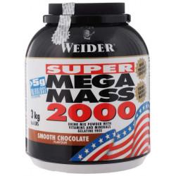 Гейнер Weider Mega Mass 2000 3000 г Smooth Chocolate