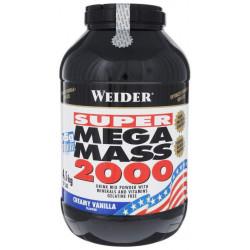 Гейнер Weider Mega Mass 2000 4500 г Creamy Vanilla