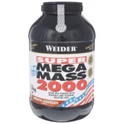 Гейнер Weider Mega Mass 2000 4500 г Smooth Chocolate