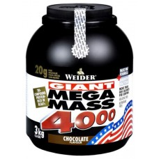 Гейнер Weider Mega Mass 4000 3000 г Chocolate