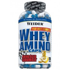 Weider Whey Aminos 280 капсул без вкуса