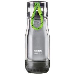 Бутылка Zoku ZK129-AC-GN Зеленый, серый