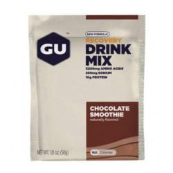 Спортивный напиток GU Recovery Drink Mix 50 г мягкий шоколад