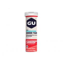 Изотонический напиток GU HYDRATION DRINK TABS, клубничный лимонад, 12 табл.