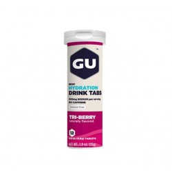 Изотонический напиток GU HYDRATION DRINK TABS, Лесные ягоды, 12 табл.