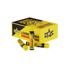 L-Carnitine питьевой Binasport со вкусом вишни 1800 мг, 24 флакона по 25 мл