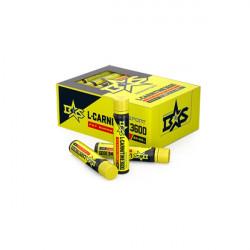 L-Carnitine питьевой Binasport со вкусом лимона 3600 мг, 24 флакона по 25 мл