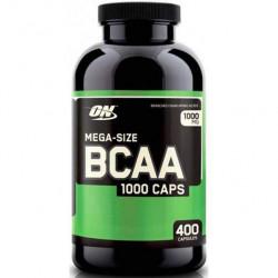 Optimum Nutrition BCAA 1000 400 капсул без вкуса