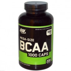 Optimum Nutrition BCAA 1000 200 капсул без вкуса