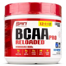 SAN BCAA Pro Reloaded 456 г клубника/киви