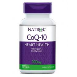 Коэнзим Natrol CoQ-10 60 капсул