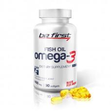 Omega-3 Be First Fish Oil + витамин E 90 гелевых капсул