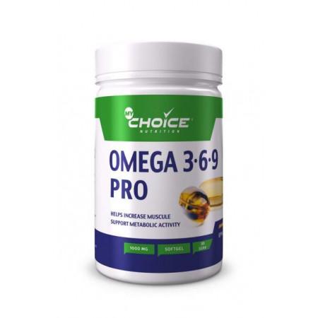 Omega 3-6-9 MyChoice Nutrition 1000 мг 30 капс