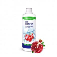 Напиток с L-карнитином и гуараной MyChoice Nutrition My Fitness 1000 мл гранат