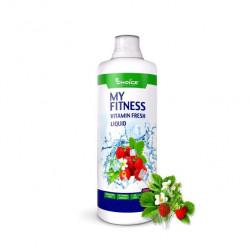 Изотоник MyChoice Nutrition My Fitness Vitamin Fresh Liquid 1 л земляника