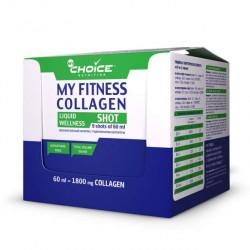 Напиток с коллагеном MyChoice Nutrition My Fitness Wellness Shot 9 шт x 60 мл ассорти