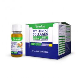 Напиток с коллагеном MyChoice Nutrition My Fitness Wellness Shot 9 шт x 60 мл черника-мед