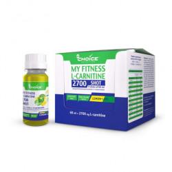 Напиток с L-карнитином MyChoice Nutrition My Fitness 2700 Shot 9 шт x 60 мл лимон-лайм