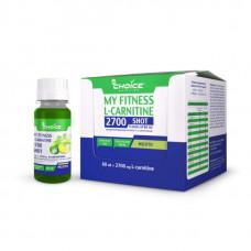 Напиток с L-карнитином MyChoice Nutrition My Fitness 2700 Shot 9 шт x 60 мл мохито