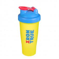 Шейкер IronTrue ITS901-600 700 мл синий/желтый