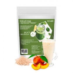 Смузи зеленый с протеином Di Maestri BiWell Персик - 15 порций, 270 г