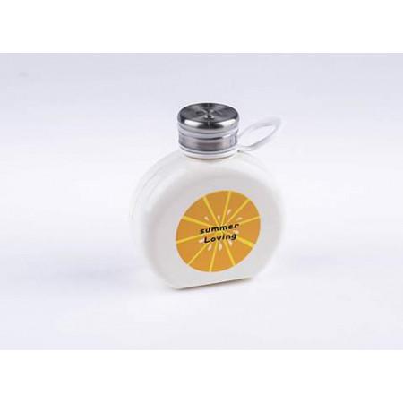 Бутылочка для воды в футляре Coocla, белая