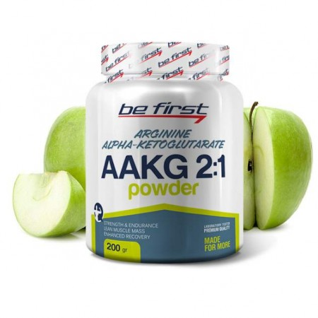 Be First AAKG Powder 200 г яблоко