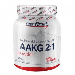 Be First AAKG Powder 300 г яблоко