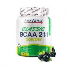 Be First BCAA Classic Powder 200 г ежевика
