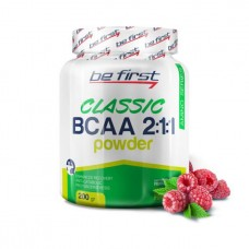 Be First BCAA Classic Powder 200 г малина