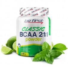 Be First BCAA Classic Powder 200 г мята/лайм