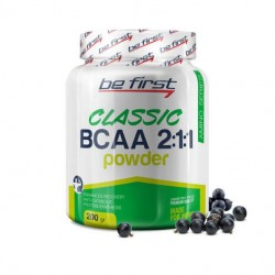 Be First BCAA Classic Powder 200 г черная смородина