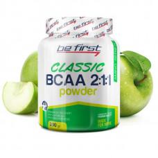 Be First BCAA Classic Powder 200 г яблоко