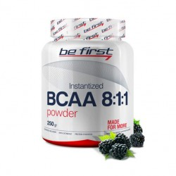 Be First BCAA Instantized Power 250 г ежевика