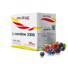 Be First L-Carnitine 3300, 20 ампул по 25 мл, Wild Berries
