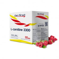 Be First L-Carnitine 3300, 20 ампул по 25 мл, Raspberry