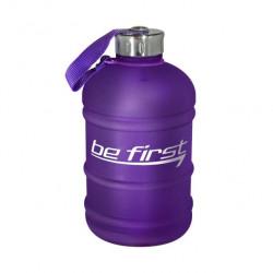 Бутылка для воды Be First 1890 мл, фиолетовая матовая