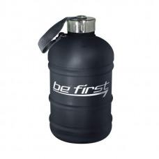 Бутылка для воды Be First 1890 мл, черная матовая