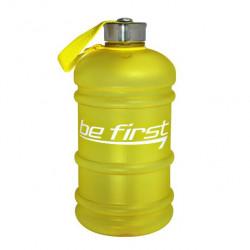 Бутылка для воды Be First 2200 мл, желтая матовая