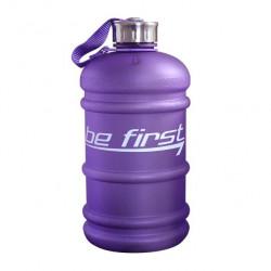 Бутылка для воды Be First 2200 мл, фиолетовая матовая