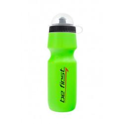 Бутылка для воды Be First 750 мл с крышкой, зеленая