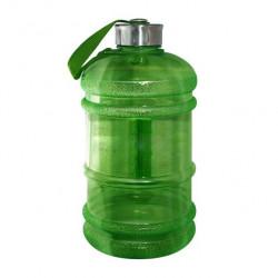 Бутылка для воды Be First без логотипа 2200 мл, зеленая