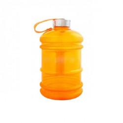 Бутылка для воды Be First без логотипа 2200 мл, оранжевая