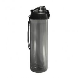 Бутылка для воды Be First без логотипа 700 мл, черная